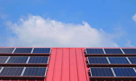 Panneau photovoltaique toit